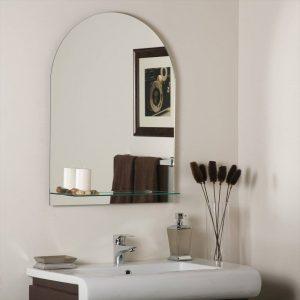 veidrodziai su lentynele