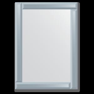 Veidrodziai su veidrodiniu remu